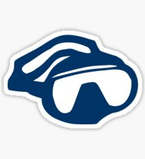 Diving goggles glasses Sticker