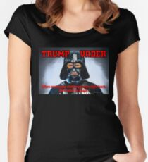 TRUMP VADER Women's Fitted Scoop T-Shirt
