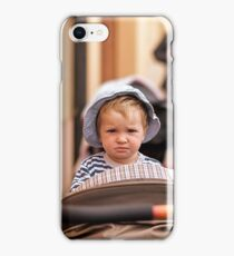 this guy is sad.. definetely.. iPhone Case/Skin