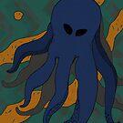 Alien-octopus von Ekaterina Kalmykova