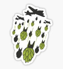 Hop Bomber Sticker