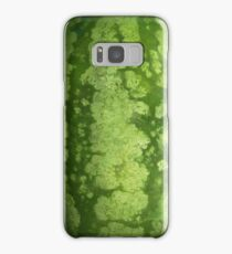 Abstract Green Rind of a Watermelon Samsung Galaxy Case/Skin