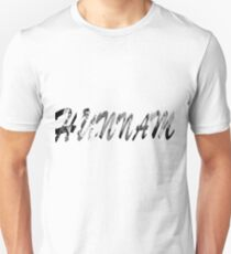 Hunnam Tekst  T-Shirt