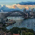 Morning Light - Sydney Harbour - The HDR Experience by Philip Johnson