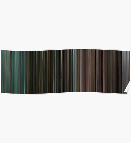 Moviebarcode: The complete Twilight Saga (2008-2012) Poster