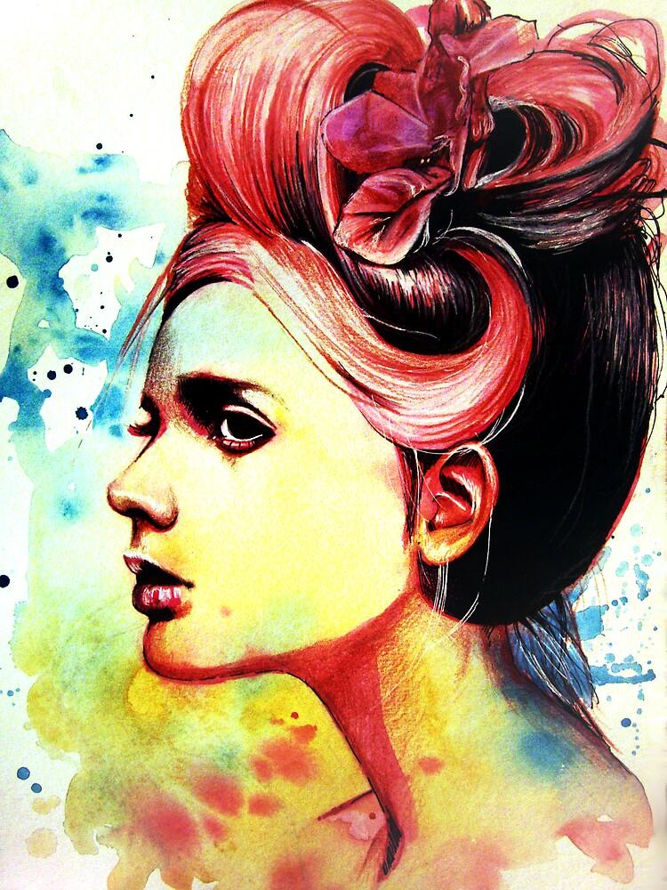 Crimson by OlgaNoes