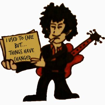 Bob Dylan  by thehippievegan