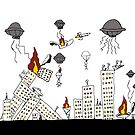 Alien Invasion by Roberto A Camacho