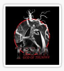 Tesla God Of Thunder Sticker