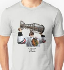 Captain Clutch with The Cup (Toews) T-Shirt