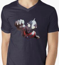 Ultraman Mens V-Neck T-Shirt