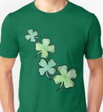 St. patrick's day lucky shamrocks Unisex T-Shirt