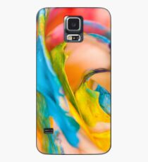 Swirling Rainbow.  Case/Skin for Samsung Galaxy