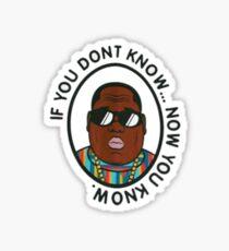 Biggy's #1 line Sticker