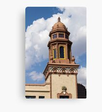 Plaza Canvas Print