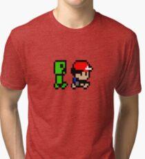 Creepin' on Ash Tri-blend T-Shirt