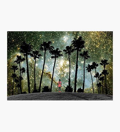 Paradise Galaxy Dream Photographic Print