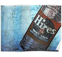 Hires Root Beer Mural Poster