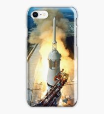 Saturn V Launch of Apollo 11 Moon Mission iPhone Case/Skin