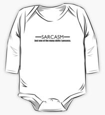 Sarcasm One Piece - Long Sleeve