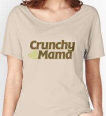 Crunchy Mama Women's Relaxed Fit T-Shirt
