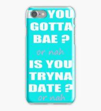 OR NAH NASH GRIER MAGCON iPhone Case/Skin