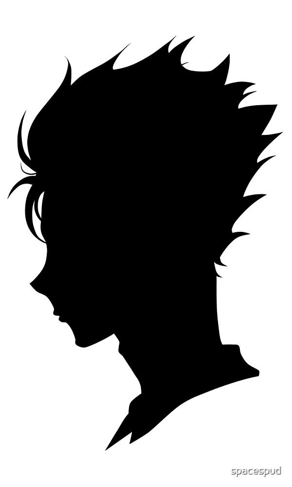 Nishinoya Yuu - Silhouette by spacespud