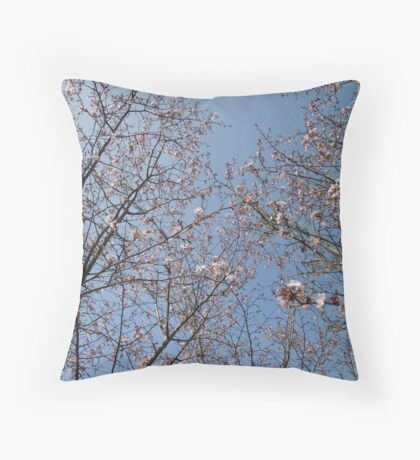 March Blossom (2014)  Throw Pillow