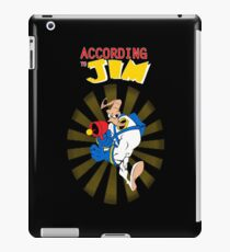 According to Jim iPad Case/Skin