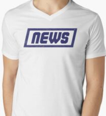 News Blue - Fontline T-Shirt