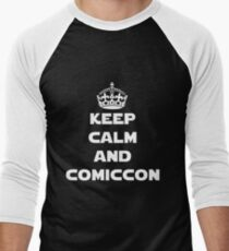 Keep Calm and Comiccon - Get this on anything! Men's Baseball ¾ T-Shirt