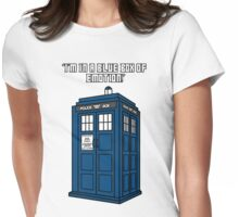 I'm in a Blue Box of Emotion Womens Fitted T-Shirt