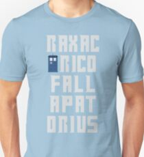 Doctor Who Tee - Raxacoricofallapatorius Unisex T-Shirt