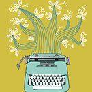 the Typing Tree by Jenny Tiffany