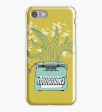 the Typing Tree iPhone Case/Skin