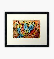 Folk Jazz Framed Print