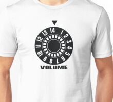 Turn up the volume Unisex T-Shirt