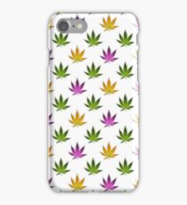 Marijuana Leaves Pattern iPhone Case/Skin