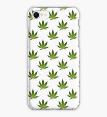Marijuana Leaves Pattern II iPhone Case/Skin