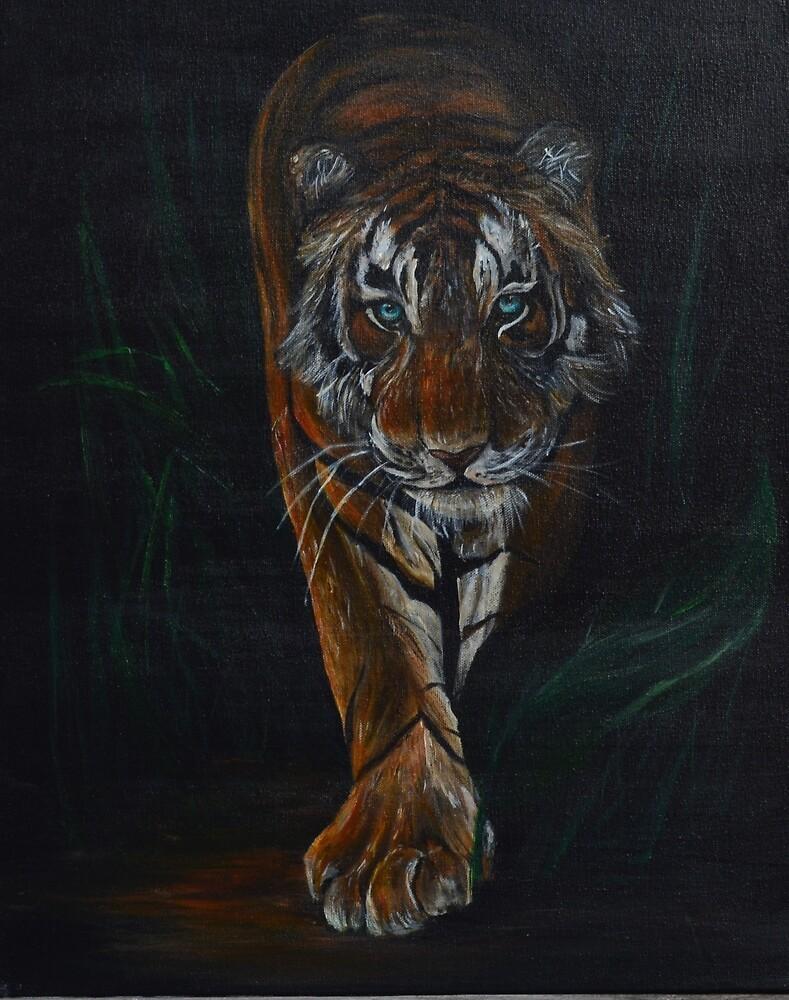 The Tiger by jennhollis
