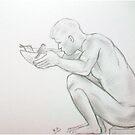 Thirst....sketch by karina73020