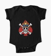 Spade Pirates Jolly Roger One Piece - Short Sleeve
