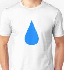 Wassertropfen Slim Fit T-Shirt