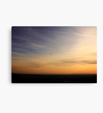 Dedicated to the PAST, Present and Future youth. On Top of My World Sunset Boise Idaho~2014 Canvas Print
