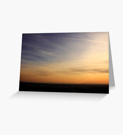 Dedicated to the PAST, Present and Future youth. On Top of My World Sunset Boise Idaho~2014 Greeting Card