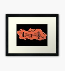 Golden Gate Bridge San Francisco Framed Print