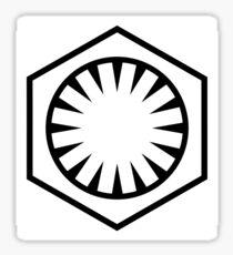 Star Wars The Force Awakens First Order  Sticker