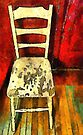 The Cream-Colored Chair by RC deWinter