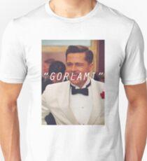 Inglourious Basterds 'Gorlami' Brad Pitt T-Shirt Unisex T-Shirt