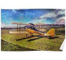 De Havilland Gipsy Moth Poster